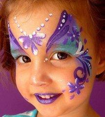 femeninas maquillaje para niñas